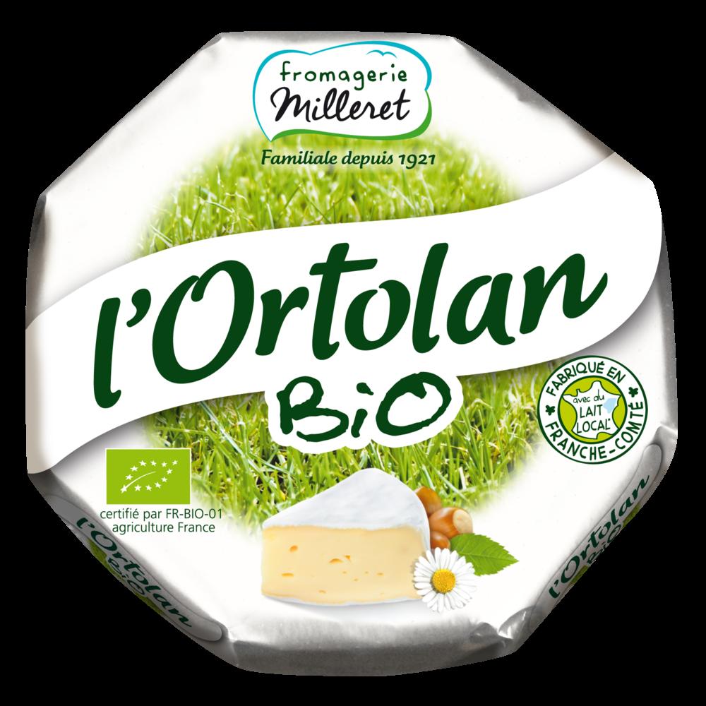 L'Ortolan BIO, Paysange - Fromagerie Milleret (250 g)