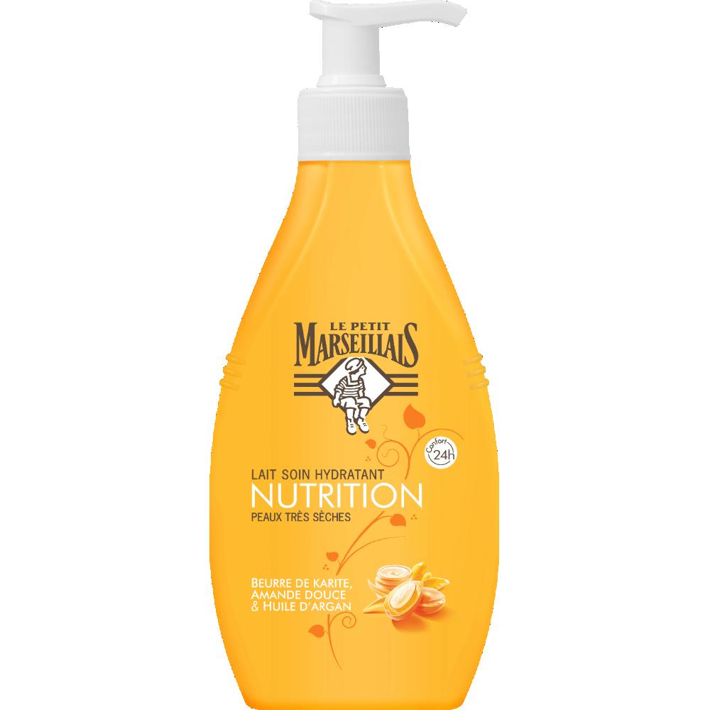 Lait corps hydratant Nutrition, Le Petit Marseillais (250 ml)