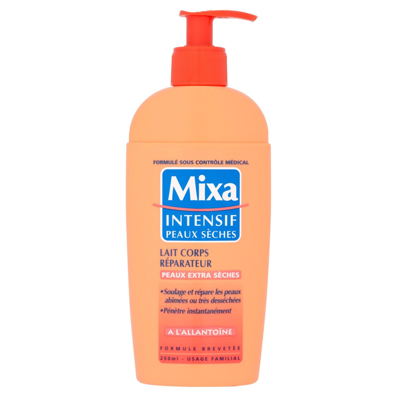 Lait corps réparateur, Mixa (250 ml)