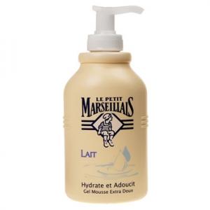 Savon liquide crème lavante lait, Le Petit Marseillais (300 ml)