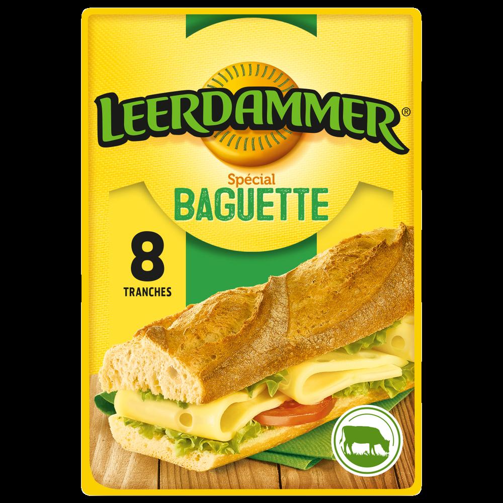 Leerdammer spécial Baguette (x 8, 160 g)