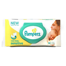 Lingettes New Baby Sensitive, Pampers (x 50)
