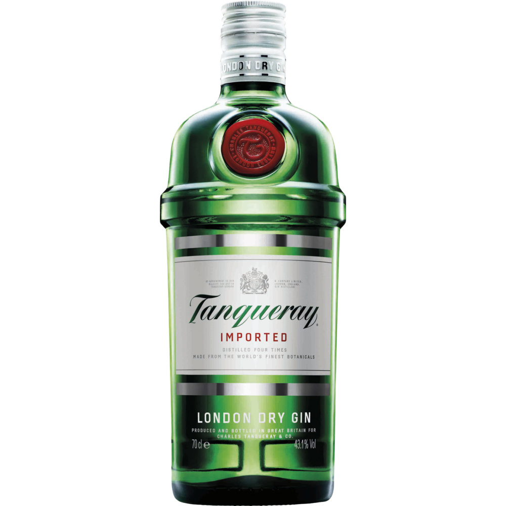 London Dry Gin, Tanqueray (70 cl)
