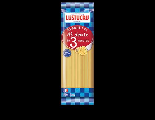 Spaghetti cuisson rapide, Lustucru (500 g)