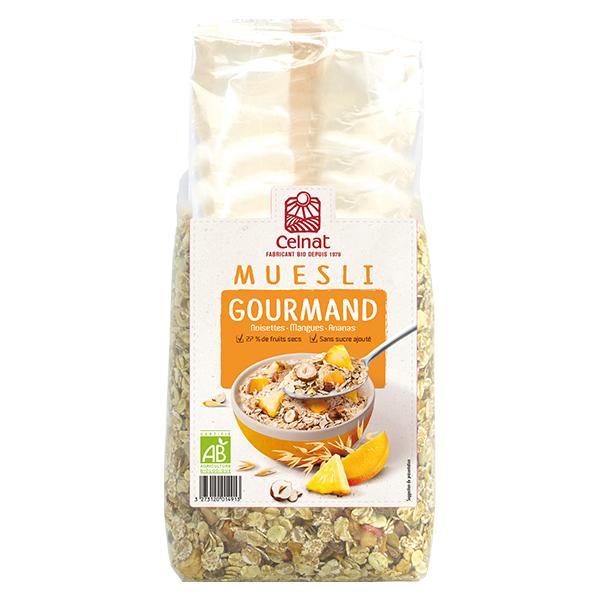 Muesli gourmand® BIO, Celnat (500 g)