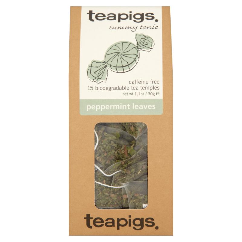 Infusion à la menthe poivrée, Teapigs (x 15 sachets)