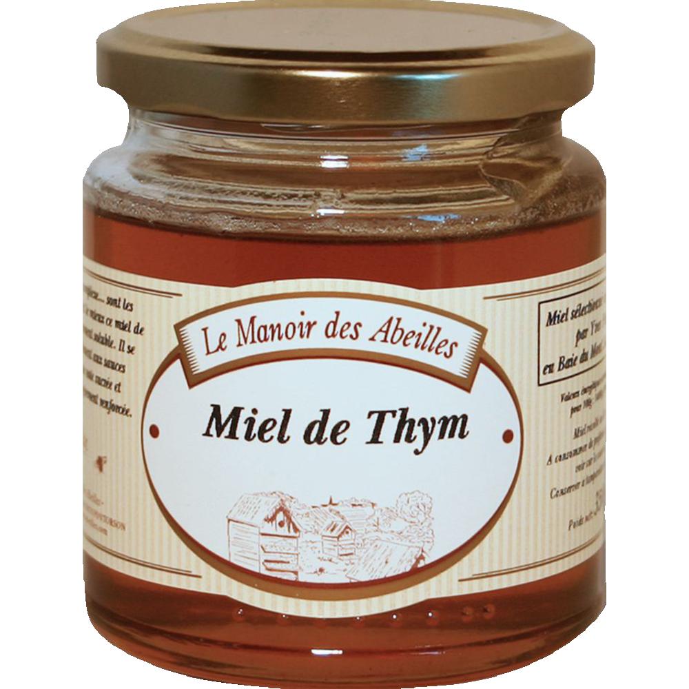 Miel de thym, Le manoir des abeilles (350 g)