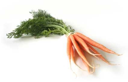 Mini carottes en bouquet (180 g)