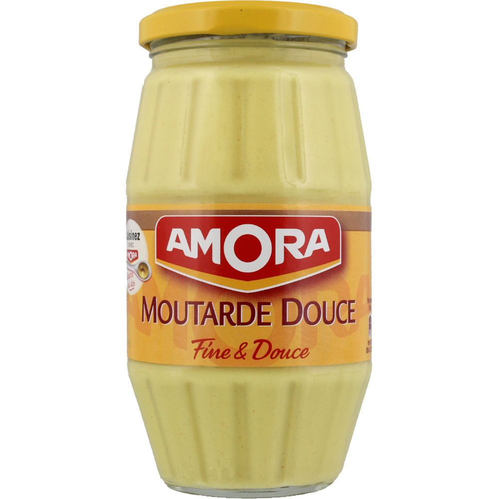 Moutarde douce, Amora (435 g)