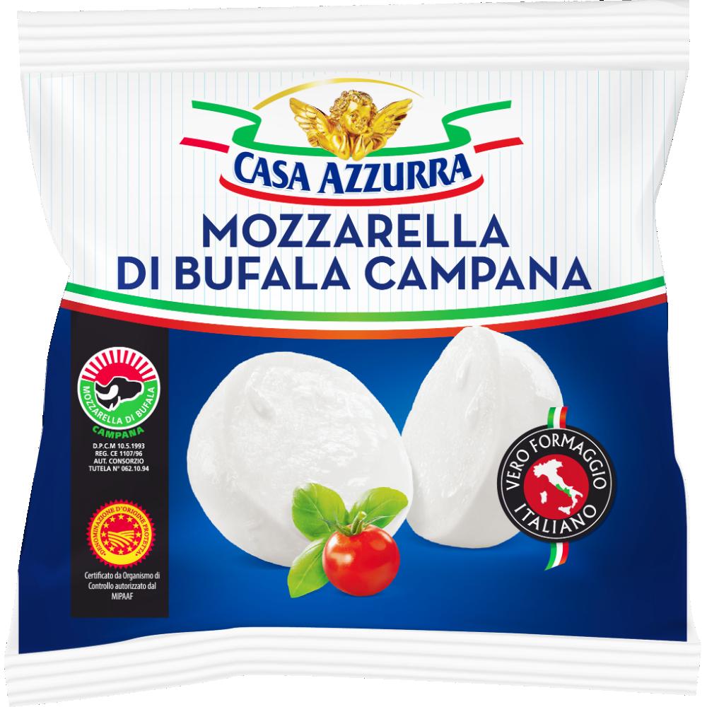 Mozzarella Latte Di Bufala, Caza Azzura (125 g)