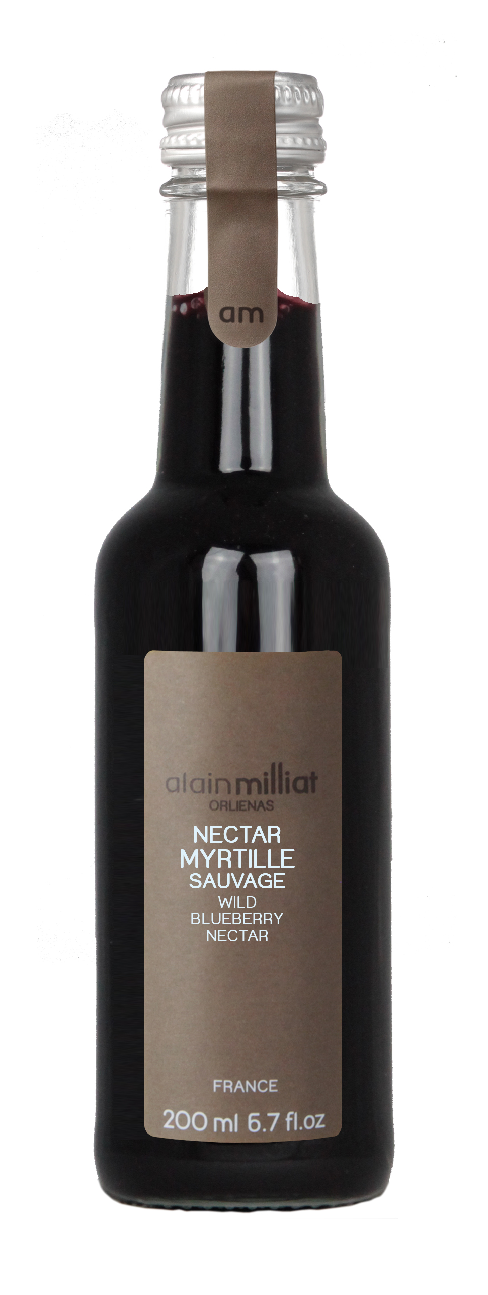 Nectar Myrtille Sauvage, Alain Milliat (20 cl)