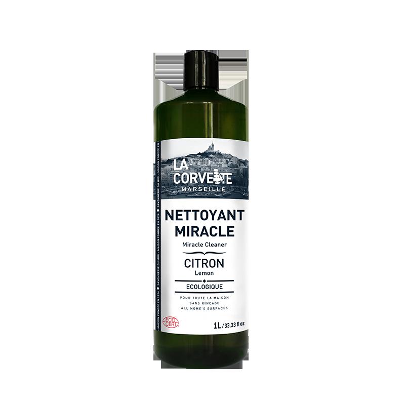 Nettoyant miracle citron, La Corvette (1 L)