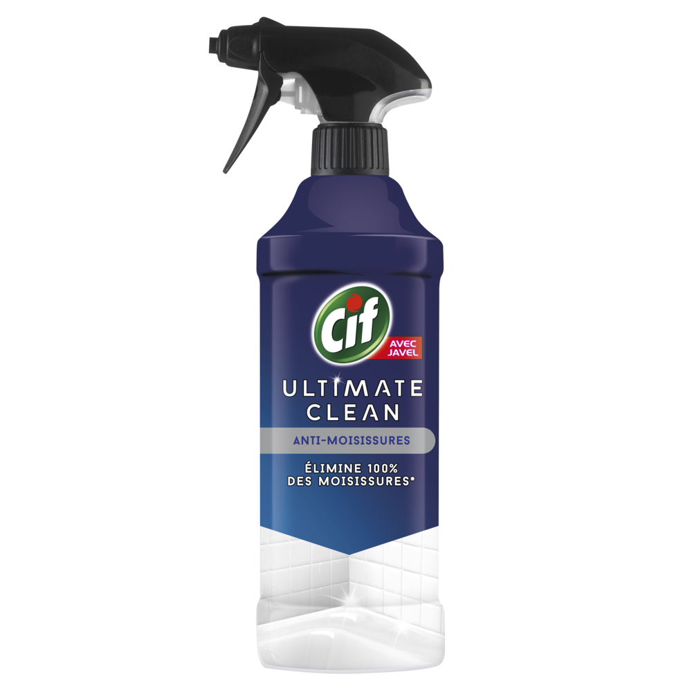 Nettoyant anti-moisissures Ultimate Clean, Cif (435 ml)