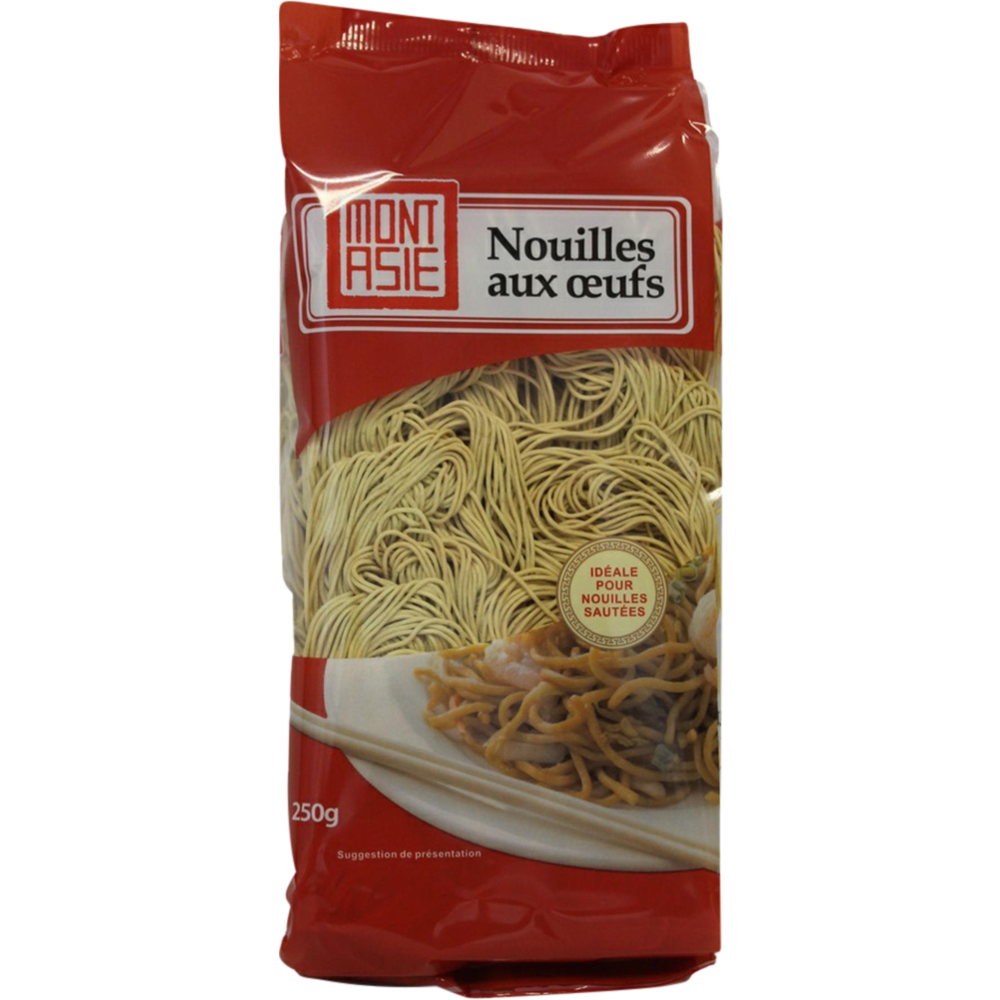 Nouilles chinoises, Mont Asie (250 g)