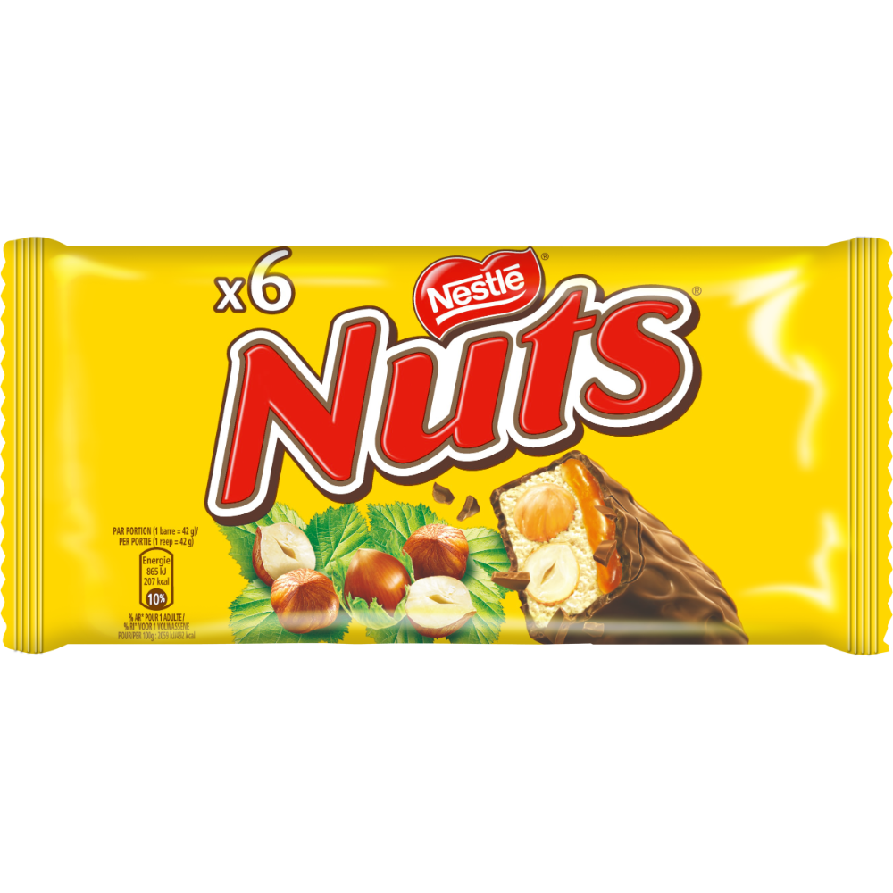Nuts (x 6, 252 g)