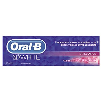 Dentifrice 3D White brillance, Oral B (75 ml)