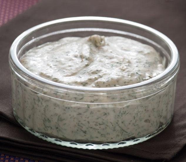 Crème fouettée à l'aneth maison (mini)