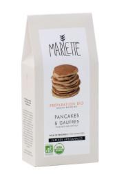 """Préparation """"Pancakes & gaufres"""" Bio, Marlette"""