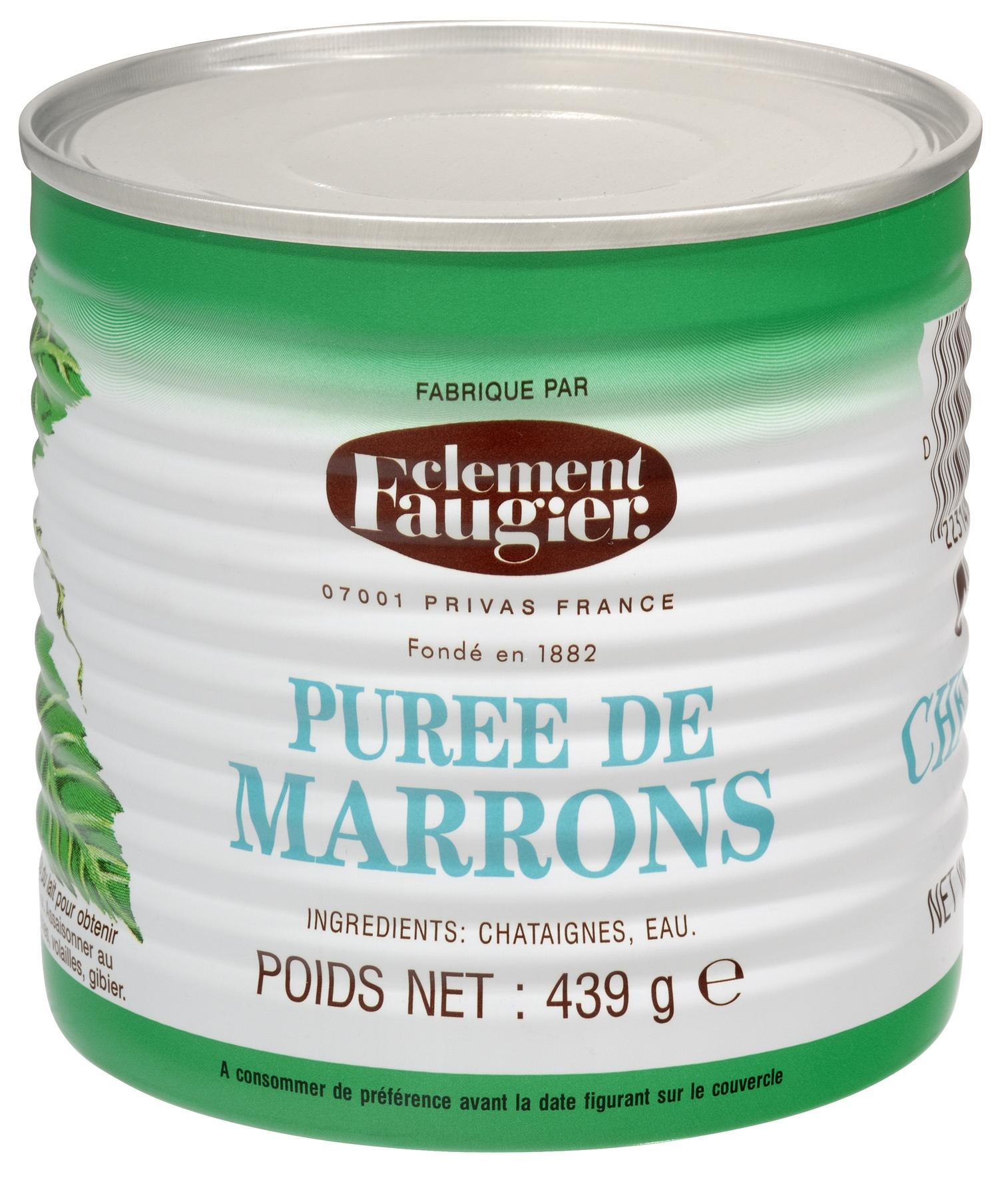 Purée de marrons, Clément Faugier (439 g)