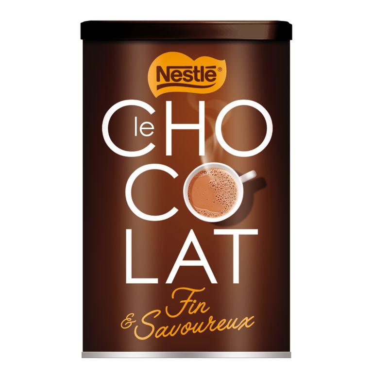 Chocolat en poudre fin et savoureux, Nestlé (500 g)