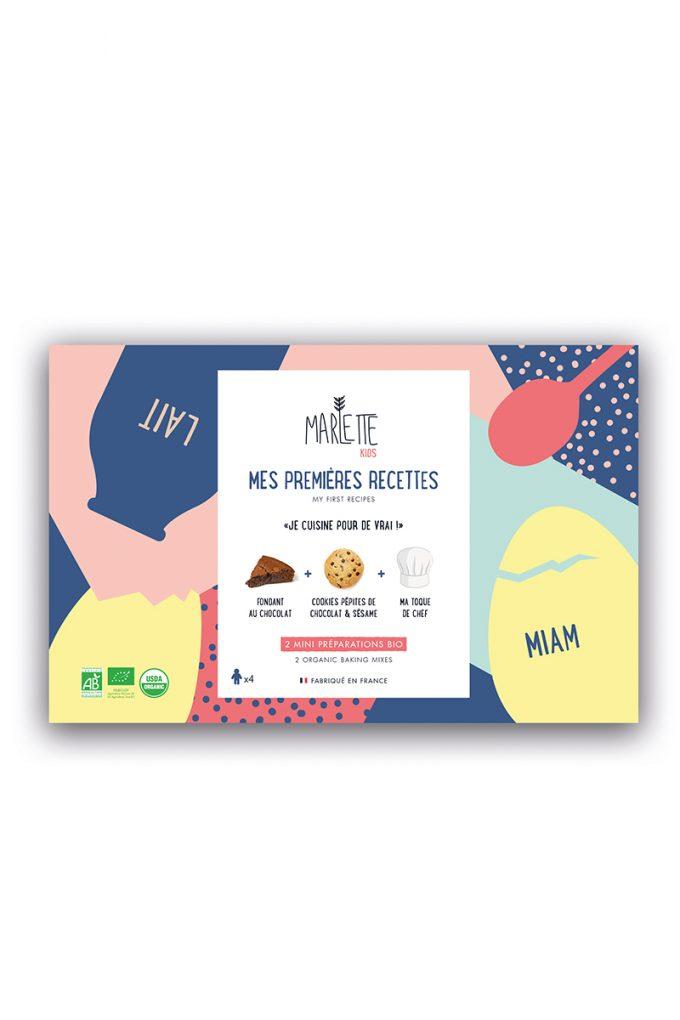 COFFRET « Mes Premières Recettes », Marlette