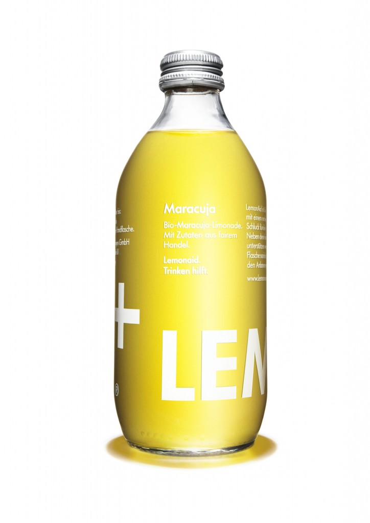 Lemonaid fruit de la passion (33 cl)
