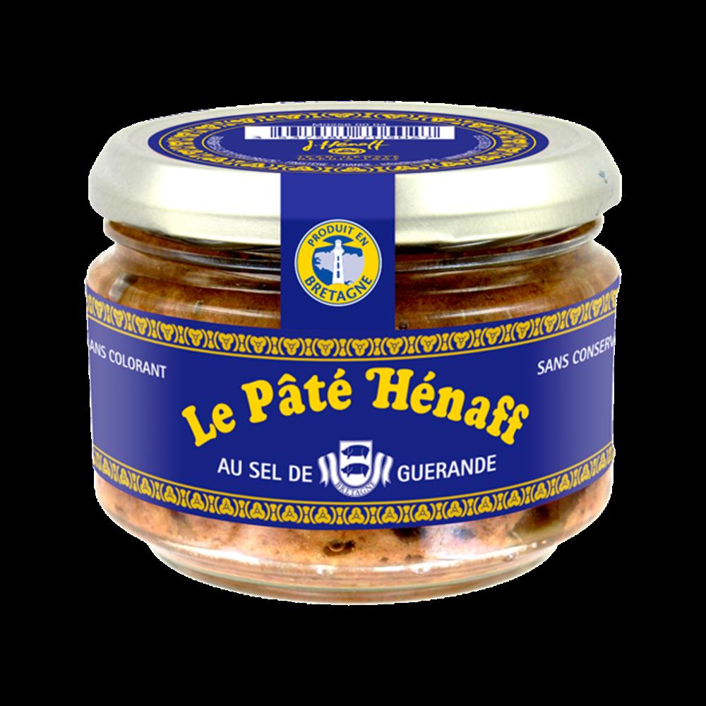 Pâté de porc au sel de Guérande, Henaff (180 g)