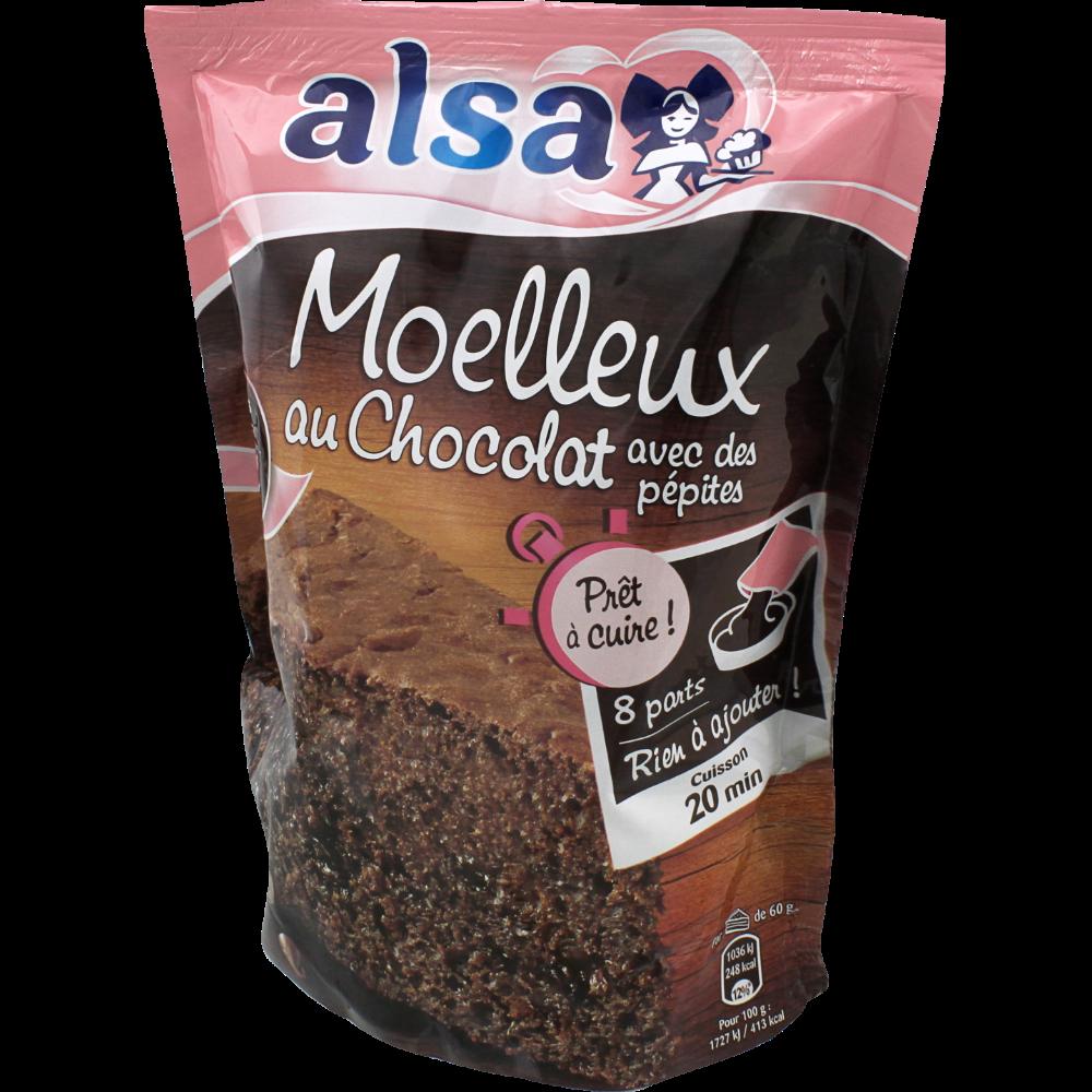 Pâte liquide pour gâteau au chocolat, Alsa (500 g)