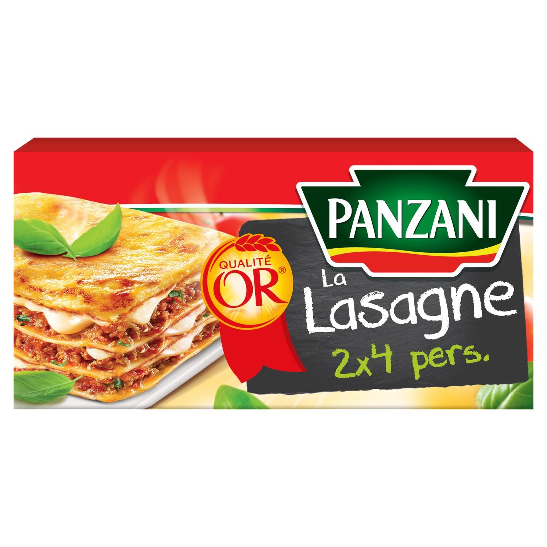Pâtes lasagnes, Panzani (500 g)