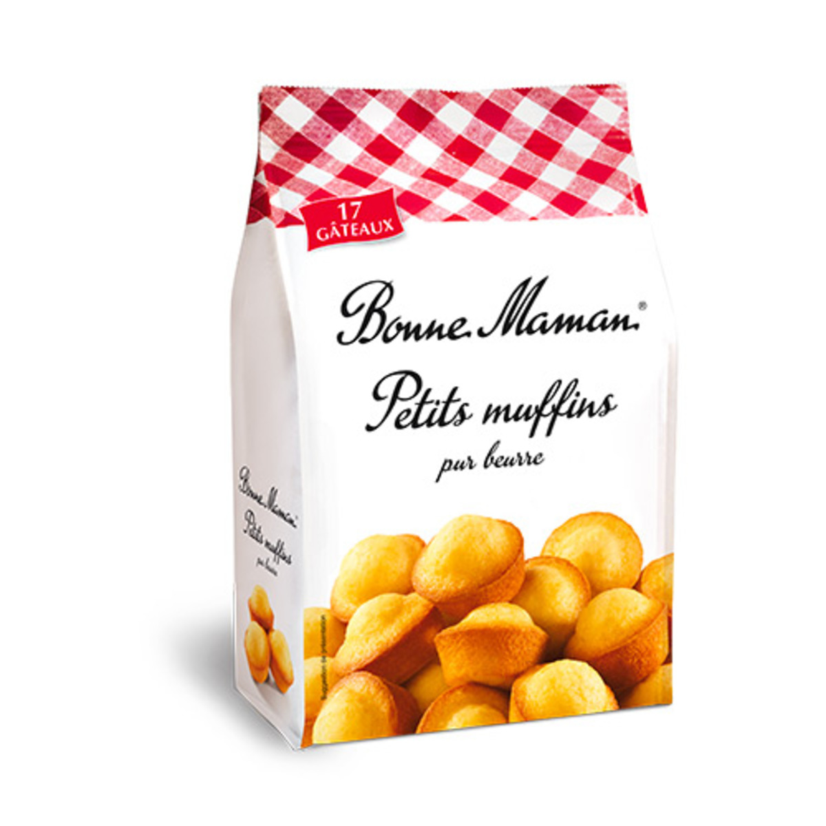 Les petits muffins nature, Bonne Maman (x 17, 235 g)