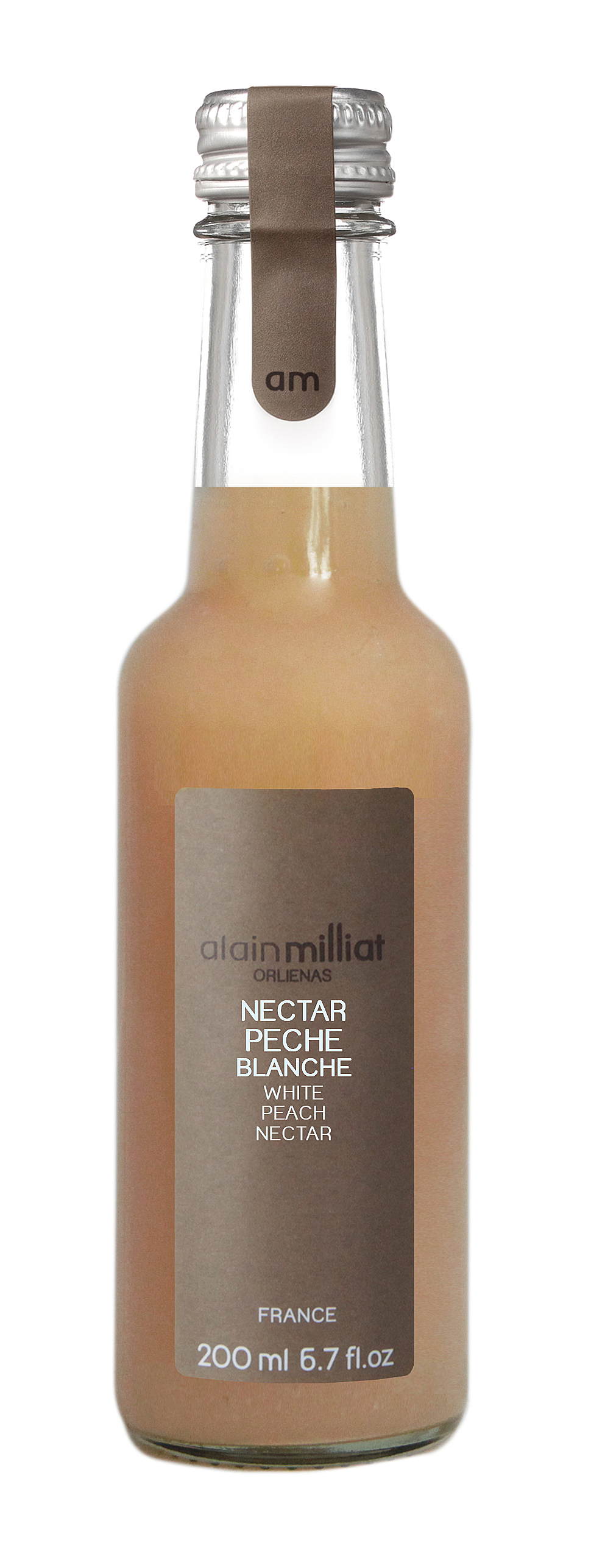 Nectar Pêche Blanche, Alain Milliat (20 cl)