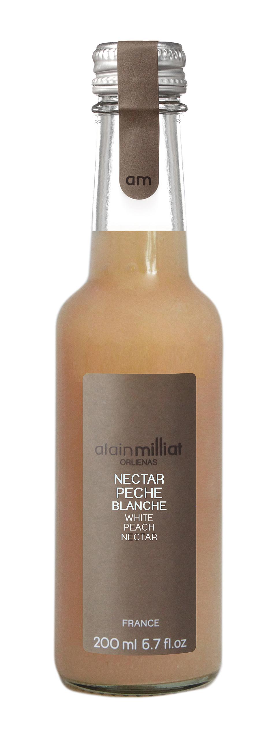 Nectar Pêche Blanche, Alain Milliat (20 cl)