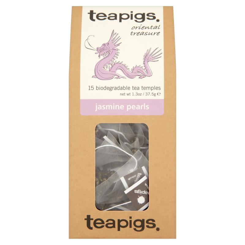 Thé vert perles de jasmin, Teapigs (x 15 sachets)