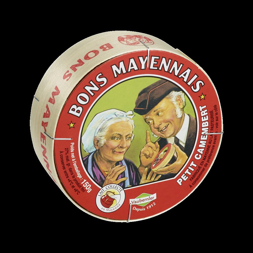 Petit camembert, Le Bon Mayennais (150 g)