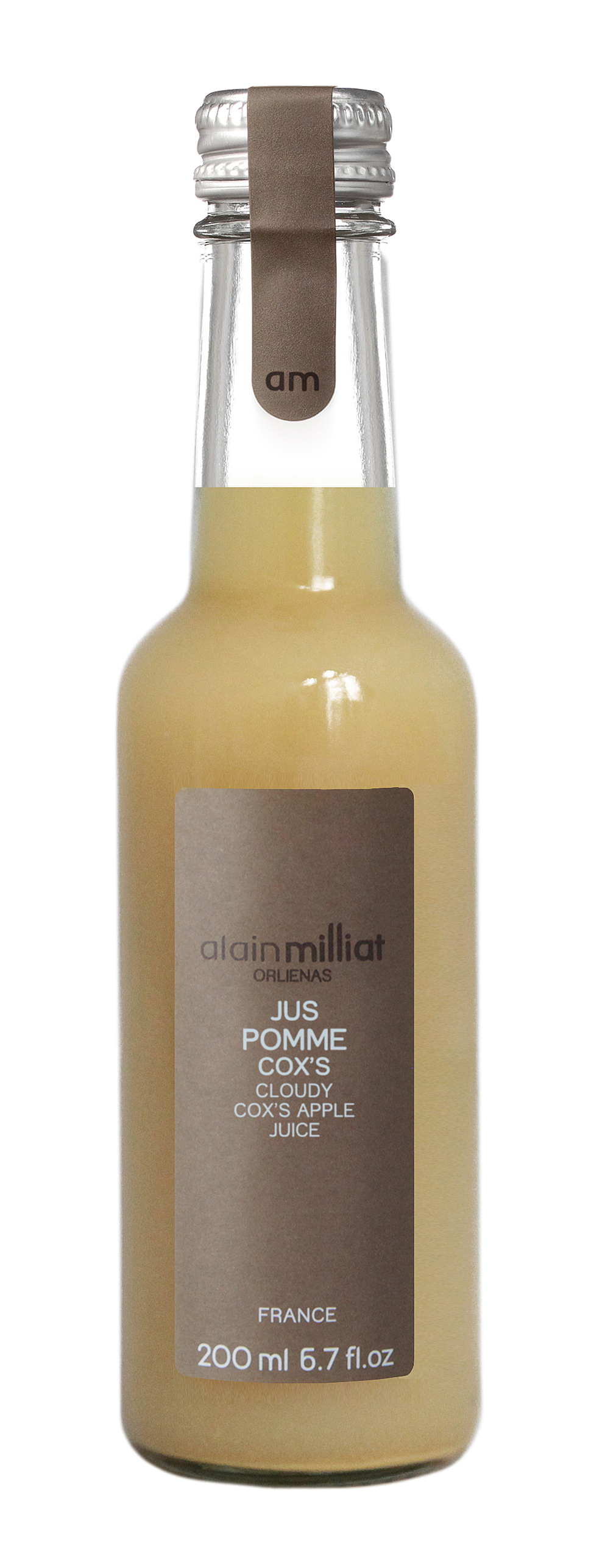 Jus Pomme Cox's, Alain Milliat (20 cl)
