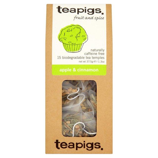 Thé pomme cannelle, Teapigs (x 15 sachets)