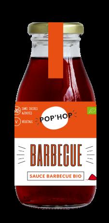 Sauce barbecue BIO, Pop'hop (275 g)
