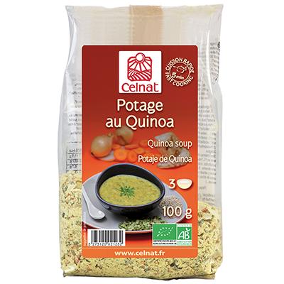 Potage au quinoa BIO, Celnat (100 g)