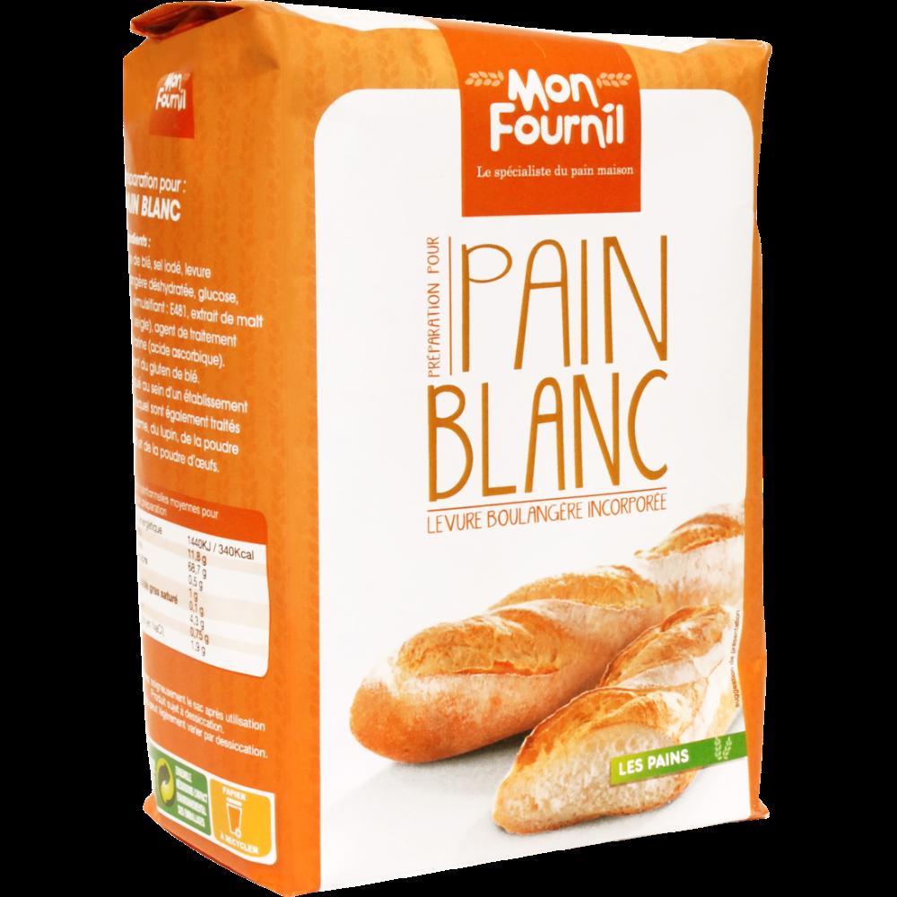 Préparation pour pain blanc, Mon Fournil (1 kg)