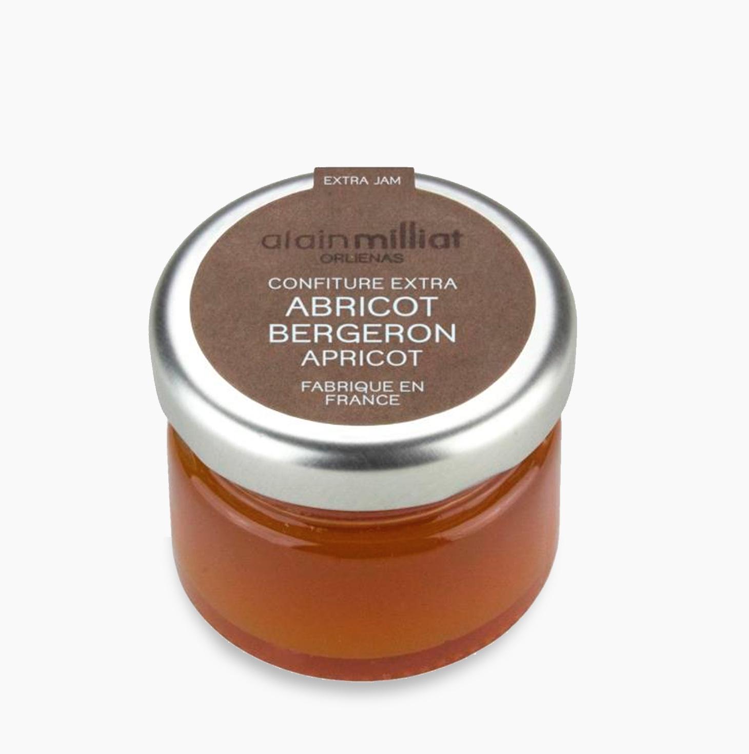 Confiture Extra Abricot Bergeron, Alain Milliat (30 g)