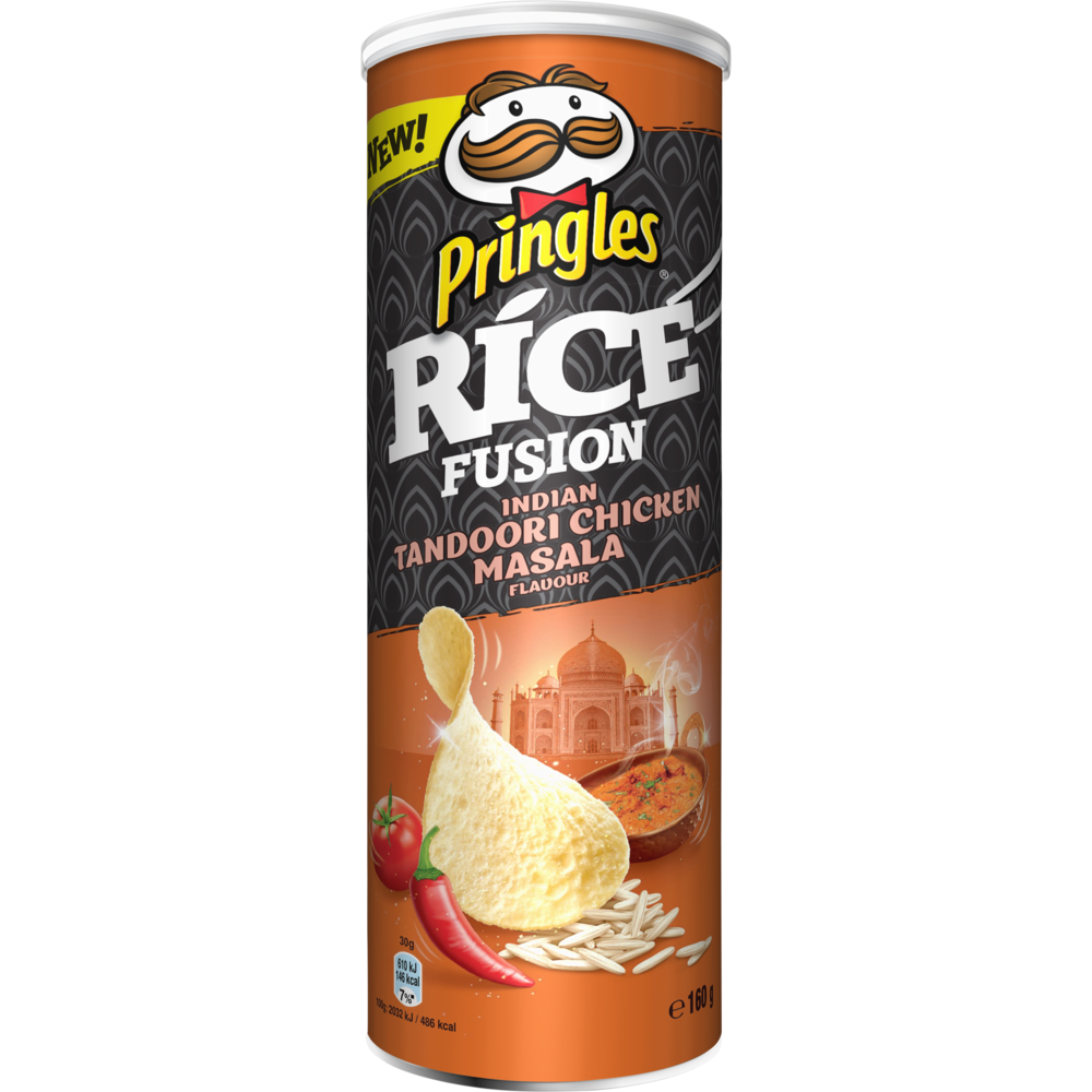 Pringles Rice fusion Indian Tandoori Chicken Masala (160 g)