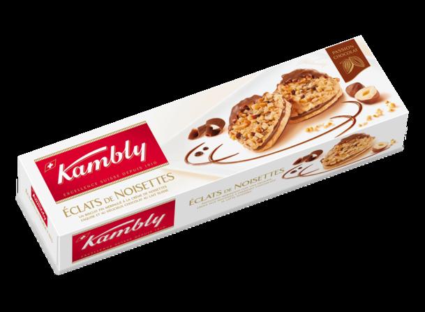 Biscuits éclats de noisettes, Kambly (100 g)