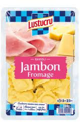 Ravioli jambon fromage, Lustucru  (300 g)