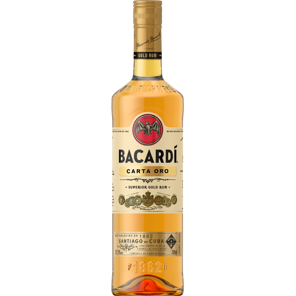 Rhum Carta Oro, Bacardi (70 cl)