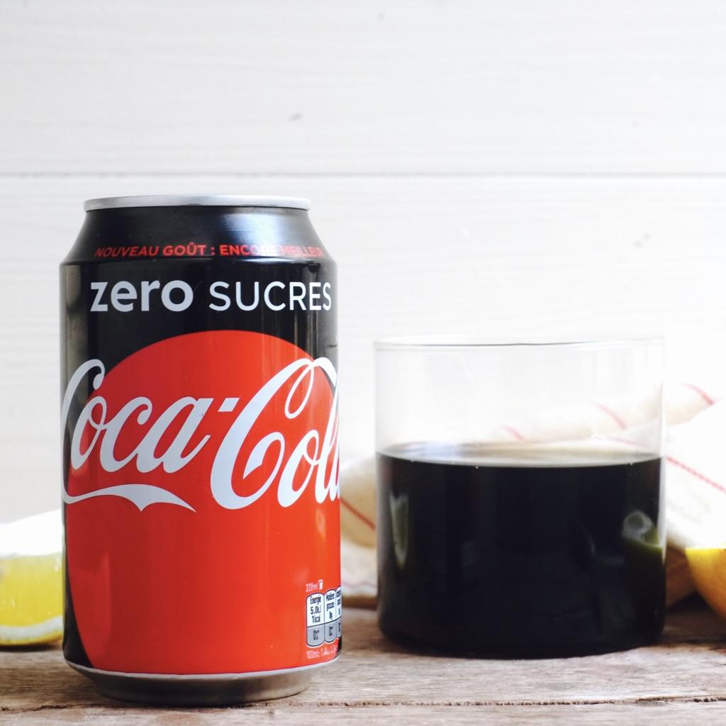 Coca-Cola Zero (330 ml) - Livré frais