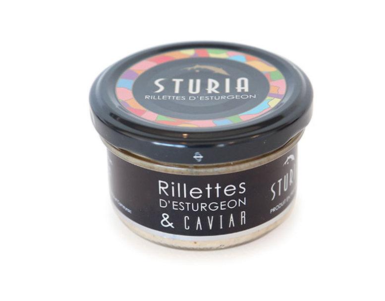 Rillettes d'Esturgeon & Caviar, Sturia (90 g)