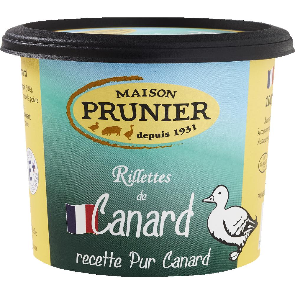 Rillettes pur canard, Maison Prunier (220 g)