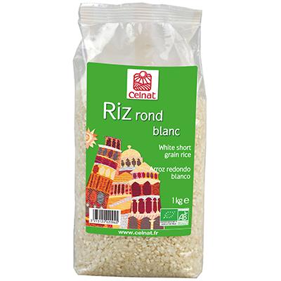 Riz rond blanc BIO, Celnat (1 kg)