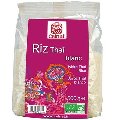 Riz thai blanc BIO, Celnat (500 g)
