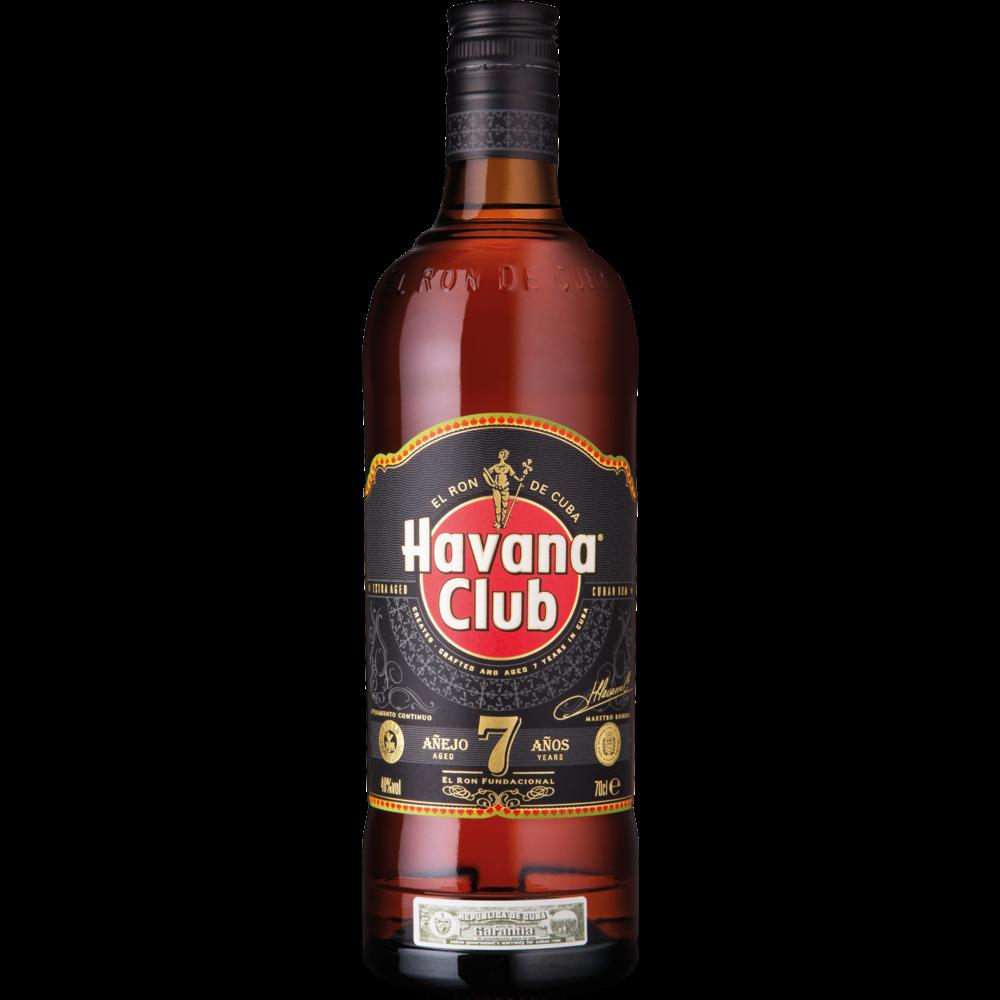 Rhum ambré de Cuba 7 ans d'âge, Havana Club (70 cl)